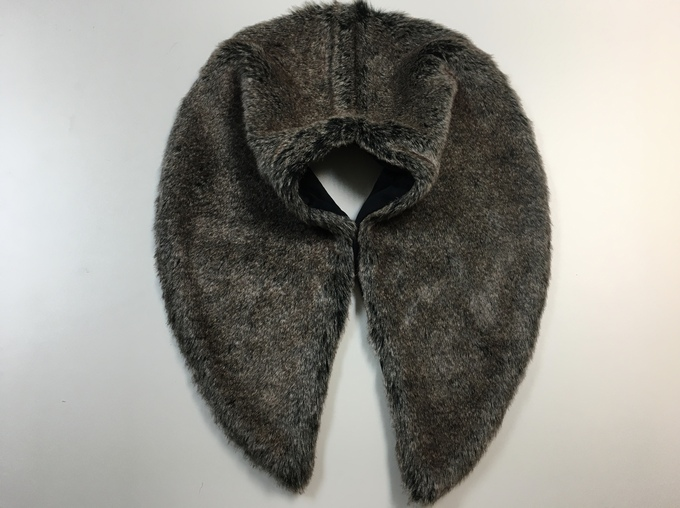 SALE Faux Fur Shawl Collars