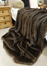 Brown Bear Faux Fur Swatch