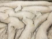 Tissavel Arctic Fox Faux Fur Fabric Per Meter