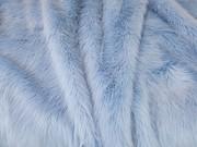 Baby Blue Faux Fur Cushions