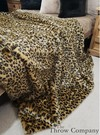 Gold Leopard Faux Fur Fabric