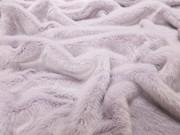 Tissavel Lavender Faux Fur Fabric Per Meter