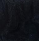 Mongolian Black Faux Fur Per Meter