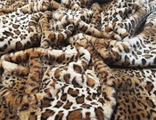 New Jaguar Faux Fur Per Meter