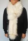 Himalaya Double Faux Fur Pom Pom Scarf