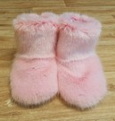 Pink Smootihe Faux Fur Booties