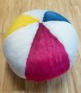 Faux Fur Beach Ball