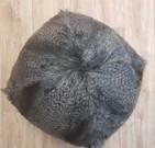 Grey Wolf Faux Fur Ball