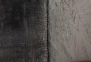Slate Grey Faux Fur Throws