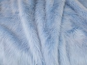 Baby Blue Faux Fur Per Meter