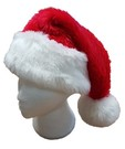 Luxury Faux Fur Men's Santa Suit & Hat