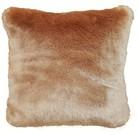 Tissavel Blush Faux Fur Cushions