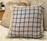 Tartan and Faux Fur Cushions