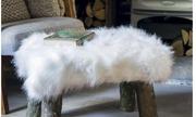 Polar Bear Faux Fur Swatch