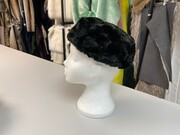 SALE Faux Fur Pillbox Hats