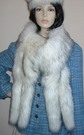 Alaska Faux Fur Tail Scarf
