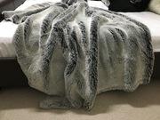 Grey Squirrel Faux Fur Fabric