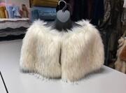 SALE Faux Fur Capelets
