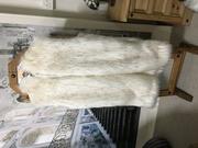 SALE Faux Fur Gilets Knee Length