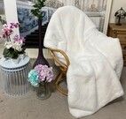 SALE Marilyn Faux Fur Throw with Velboa