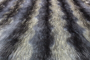 Blue Ridge Mountain Faux Fur Fabric Per Meter