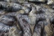 Blue Ridge Mountain Faux Fur Swatch