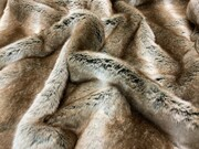 SALE Chelsea Faux Fur Throw with Velboa