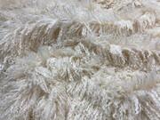 Valais Cream Faux Fur Fabric Per Meter
